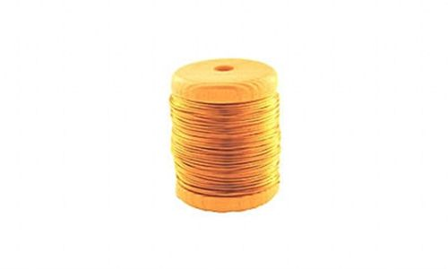Arame de latão, 0,6mm, Oboefagote.com. Unidade (carretel 15m)