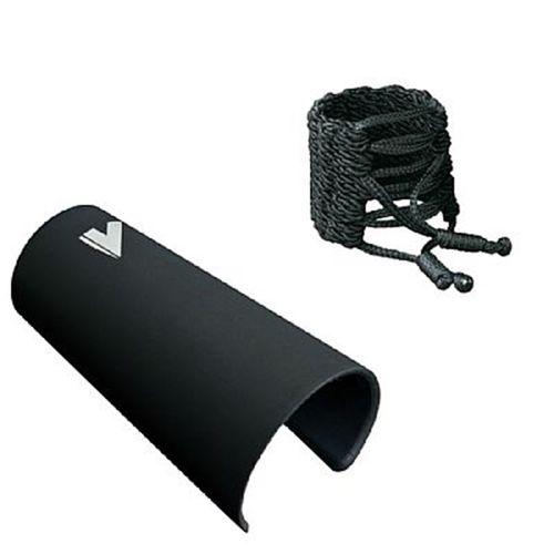 Abraçadeira de Fio e cobreboquilha plástica, Clarinete/Sax Alto. Vandoren Klassik.