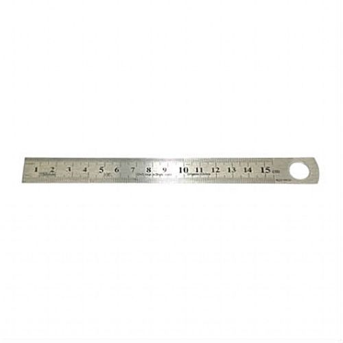 Regua Metalica, 15 cm.