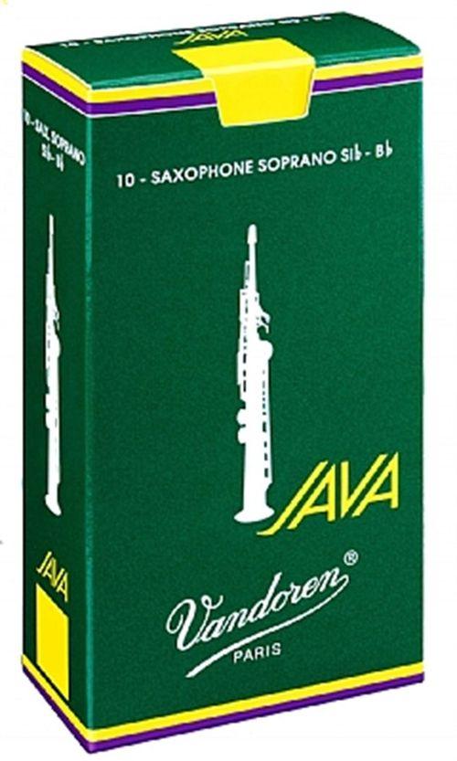 "Palheta 3.0 ""Java - Vandoren"", Sax Soprano, caixa c/10"
