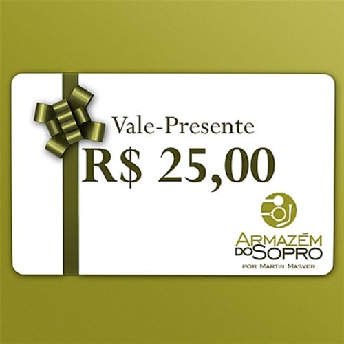 Vale Presente de R$25 reais