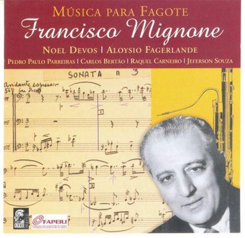 CD Música para Fagote Francisco Mignone
