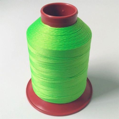 Linha de nylon fina, carretel 660 m - Cor: Verde Cítrico