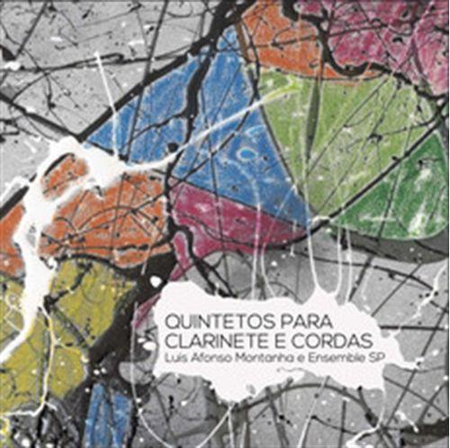 CD Luis Afonso Montanha e Ensemble SP - Quintetos para Clarinete e Cordas