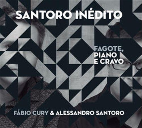 CD Fabio Cury & Alessandro Santoro - Santoro Inédito