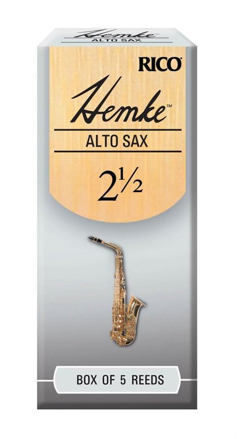 """Palheta 2.5 """"Frederick L. Hemke - Rico"""", Sax Alto, cx c/05 unid."""