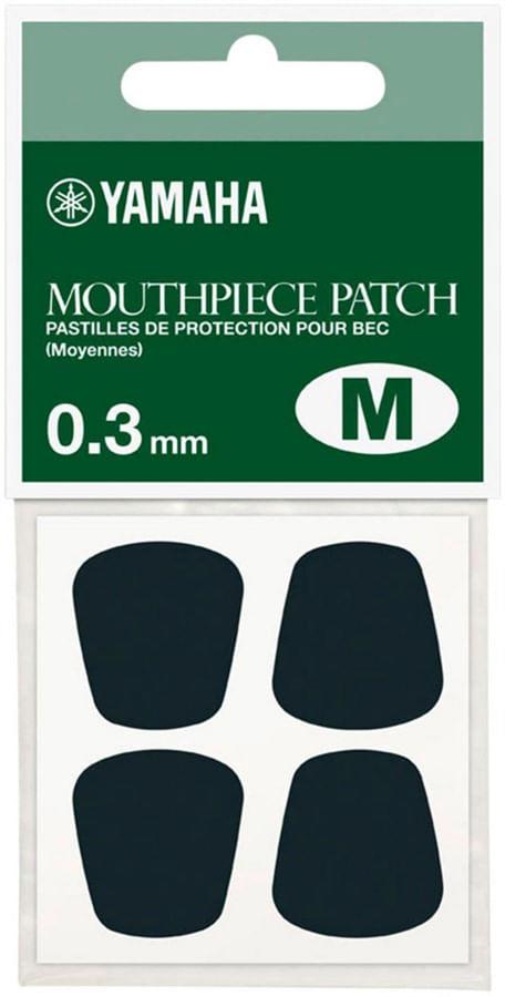 Protetor de boquilha Yamaha 0,3mm, tam M preto -pct c/ 4un