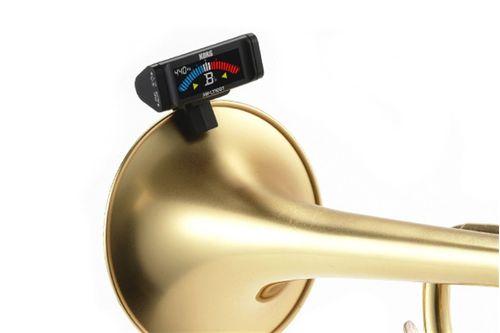 Afinador Cromático Korg com clipe, para Trompete e Trombone