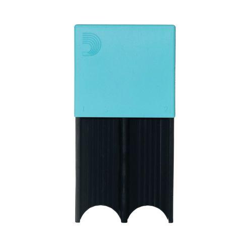 Porta-palheta de Clarone Baixo e Sax Tenor ou Barítono D'Addario azul, p/ 4palhetas