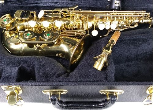 Sax Soprano curvo Eagle, modelo SP508, usado