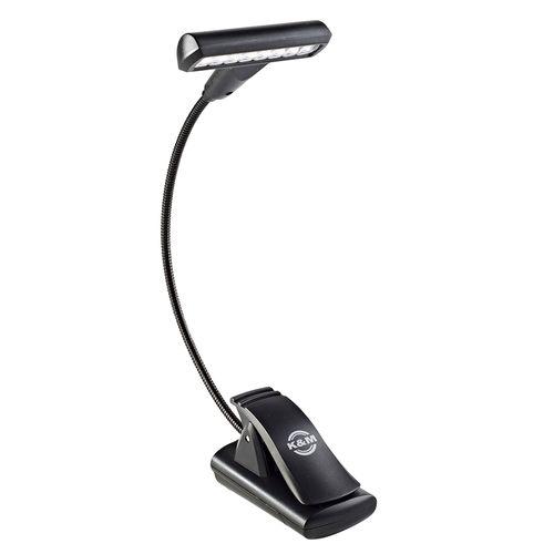 Luminária de LED König & Meyer Com Haste Flexível - Cor preta