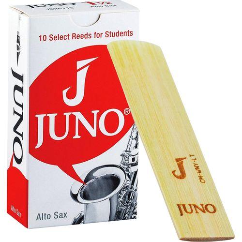 """Palheta 1.5 """"Juno - Vandoren"""", Sax Alto, caixa com 10 palhetas"""