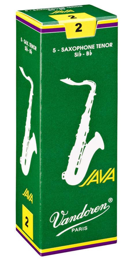 "Palheta 2.0 ""Java - Vandoren"", Sax Tenor, caixa c/ 5"