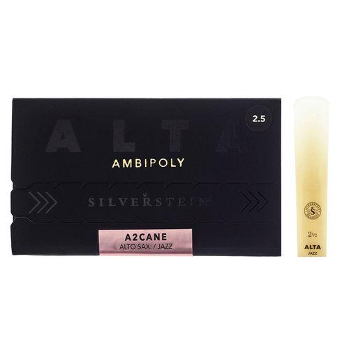 """Palheta 2.5 """"Alta Ambipoly"""" mod.Jazz, Sax Alto, unid."""