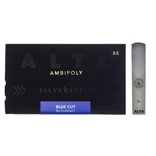 "Palheta 2.5 ""Alta Ambipoly"" mod.Blue Cut, Clarinete Bb, unid."