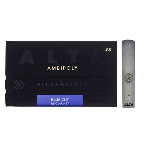 "Palheta 3.5 ""Alta Ambipoly"" mod.Blue Cut, Clarinete Bb, unid."