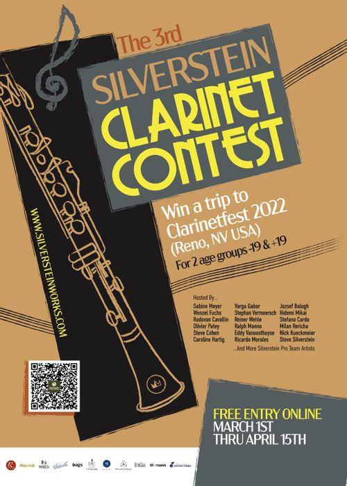 3º Silverstein Clarinet Contest - SCC-2021