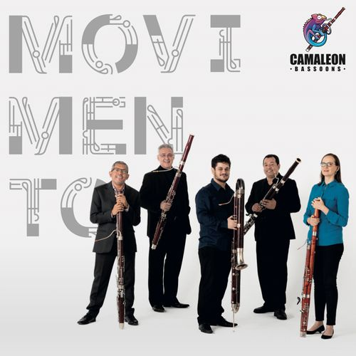 """1- CD Movimento - Camaleon Bassoons """"Lançamento"""""""
